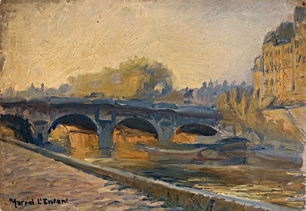 Le Pont Neuf (vers la statue d'Henri IV)