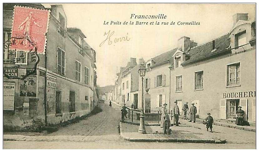 Franconville-puits-de-la-barre-et-la-rue-de-cormeilles.JPG