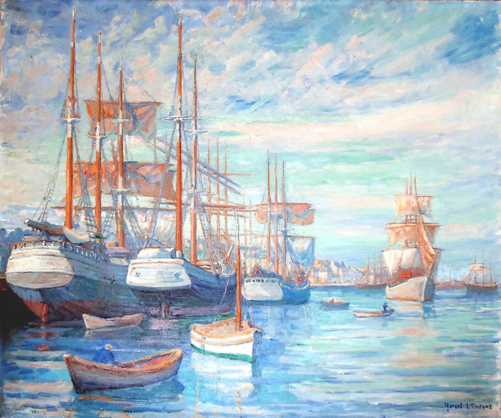 Navires à Saint Servan