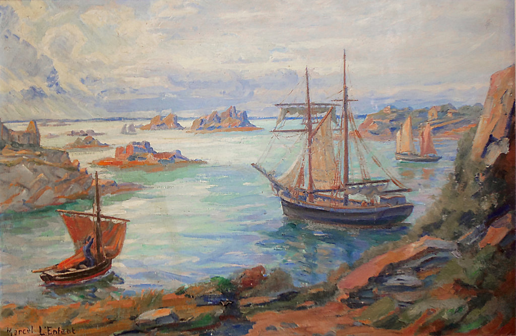 Bréhat 1922 - La Corderie