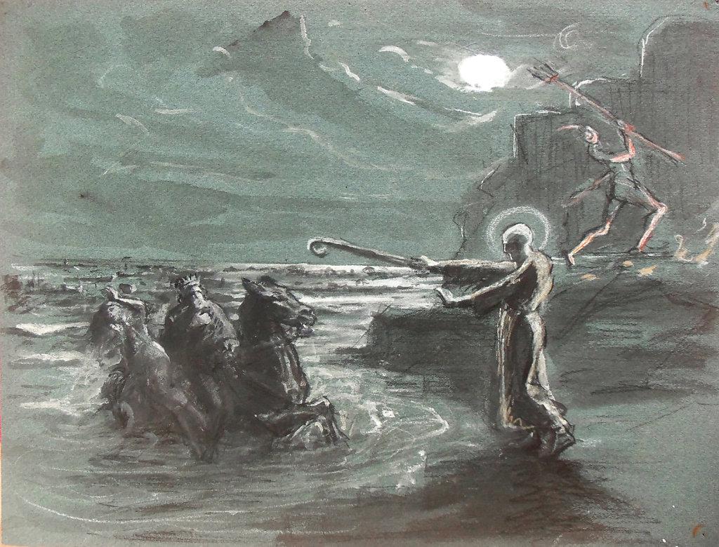 Légende d'Ys - Saint Guénolé et le Roi Gradlon