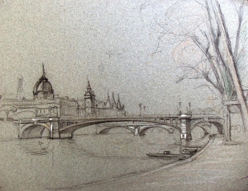 Paris, Pont de Notre-Dame