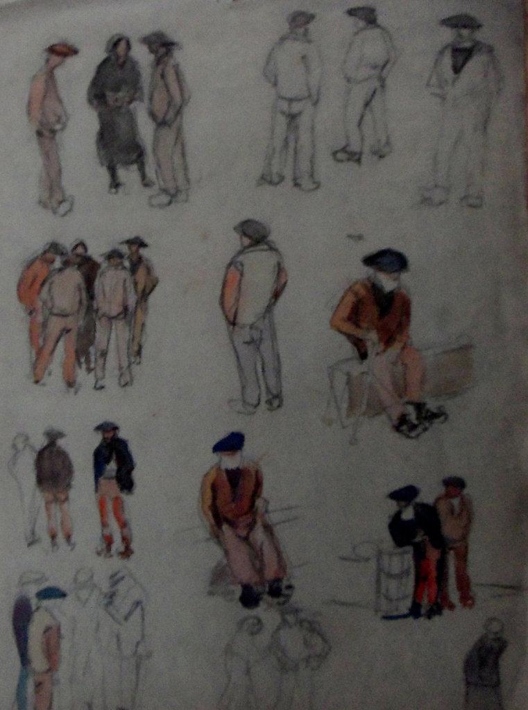 étude de marins bretons