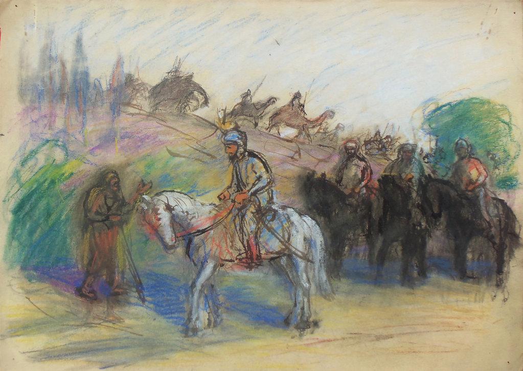 Prince arabe et mendiant